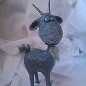Куклы и игрушки ручной работы. Ярмарка Мастеров - ручная работа Козлик. Handmade.