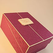 Упаковочная коробка ручной работы. Ярмарка Мастеров - ручная работа Коробки для подарков и изделий. Handmade.