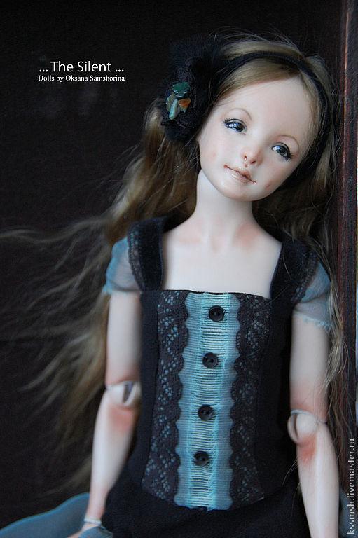 "Фарфоровая шарнирная кукла - молд ""Ася"" 02/15, Куклы, Москва, Фото №1"