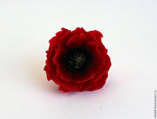 кольцо,кольцо с цветами,кольцо с маками,мак,красный мак,яркое кольцо,красное кольцо,красныйцветок,украшение с маками,украшение с цветами.