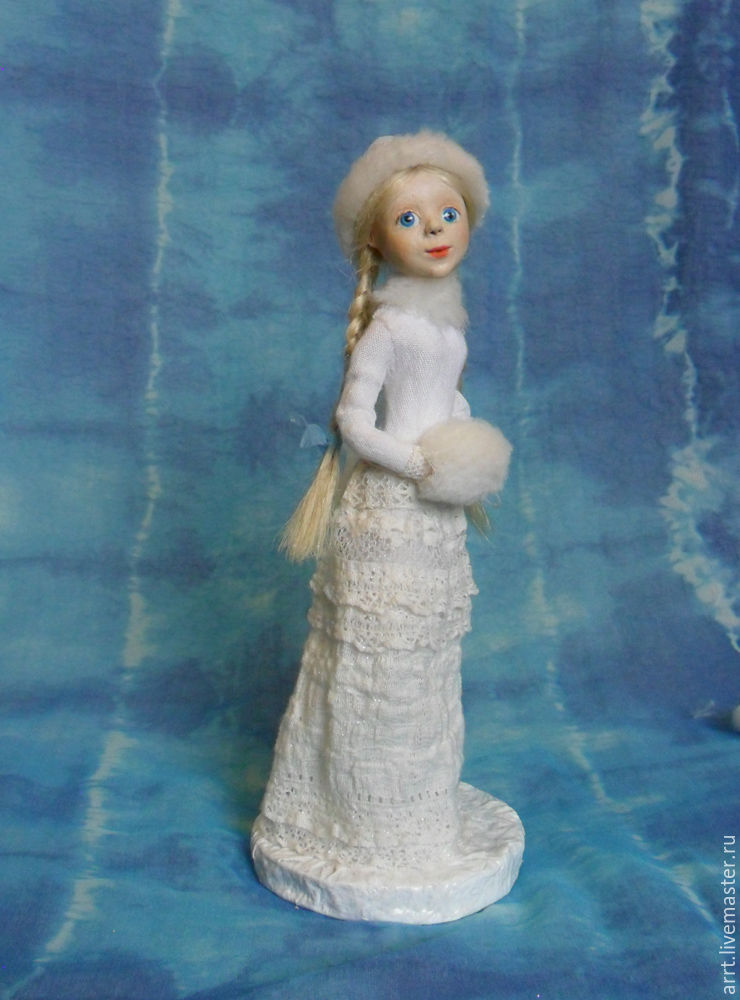 Снегурочка Авторская кукла, Статуэтка, Санкт-Петербург, Фото №1