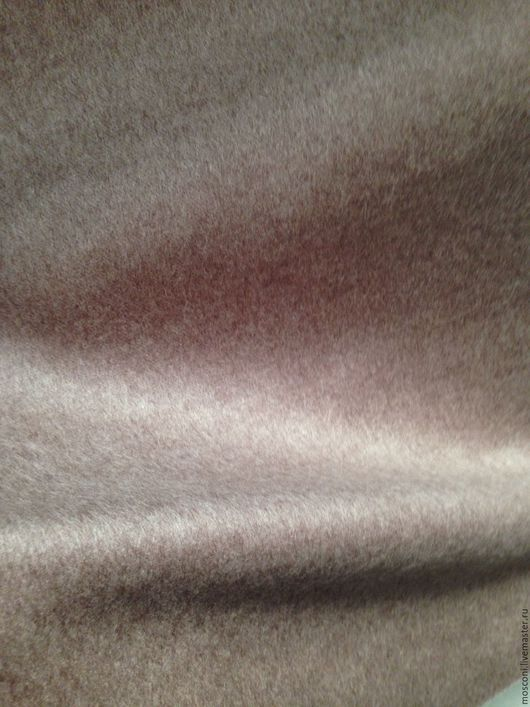 Шитье ручной работы. Ярмарка Мастеров - ручная работа. Купить Ткань Пальтовая . Италия. Handmade. Бежевый, кашемир, Пальто на осень