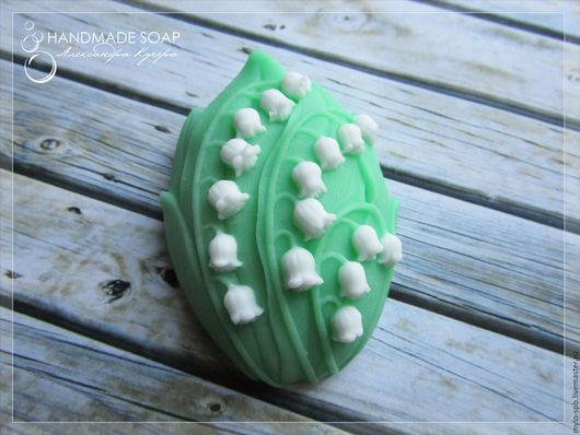 """Мыло ручной работы. Ярмарка Мастеров - ручная работа. Купить """"Ландыши"""" мыло ручной работы. Handmade. Зеленый, Санкт-Петербург"""