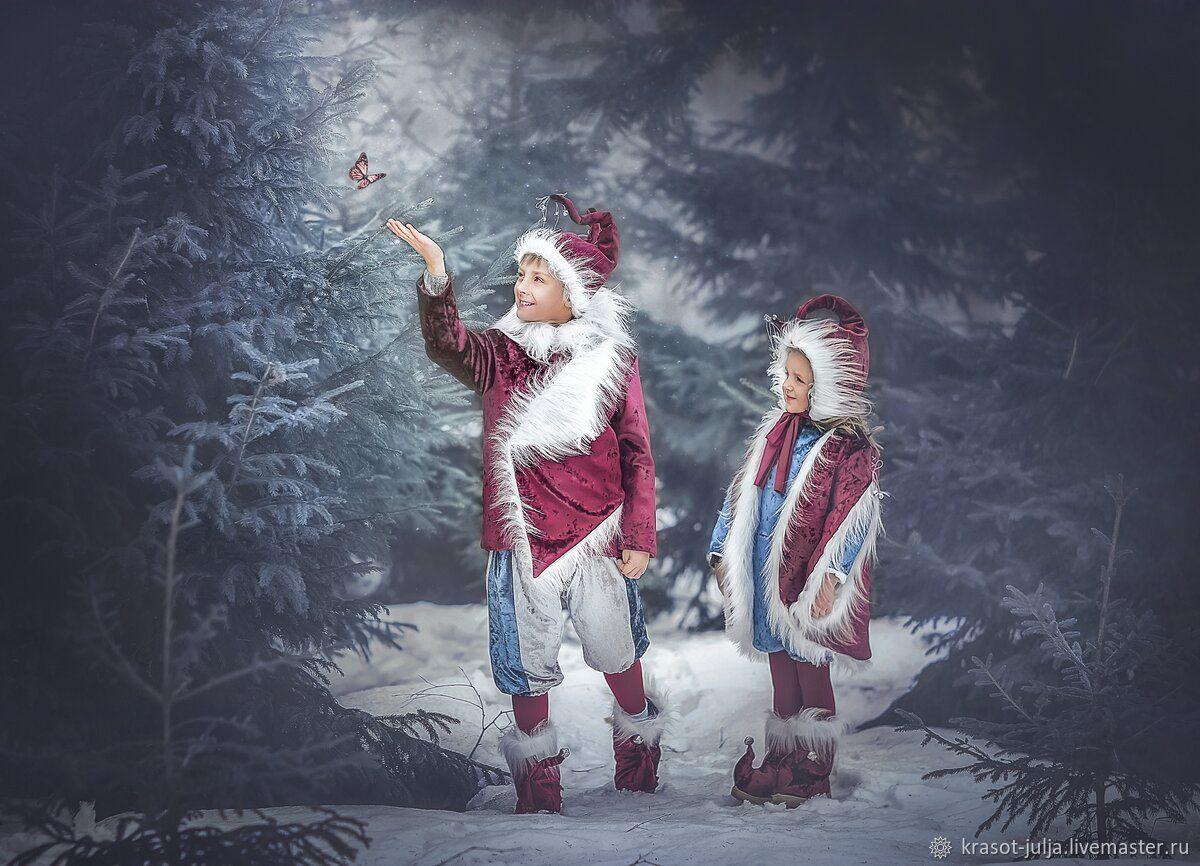 Костюм Гнома, Эльфа для фотосессии, зимний, Сказка, Карнавальный костюм, Санкт-Петербург,  Фото №1
