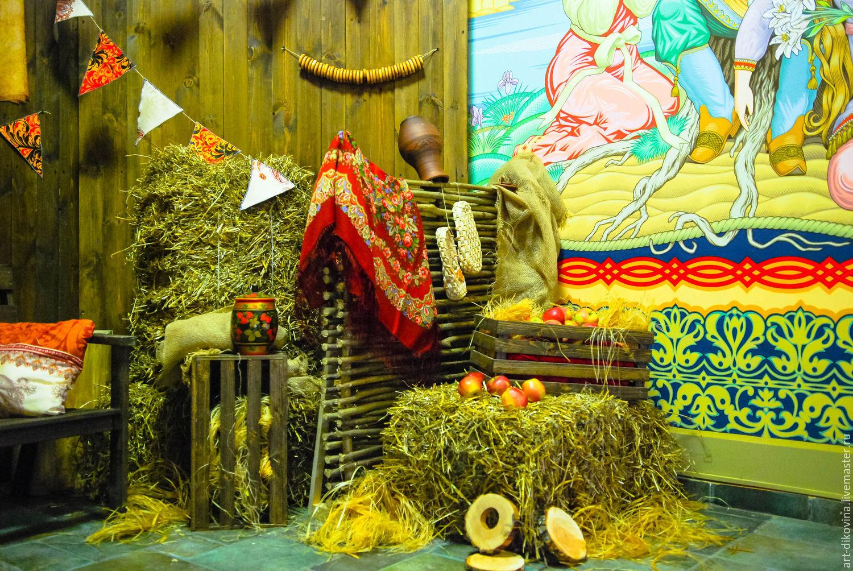 Поздравление юбиляра в русско народном стиле