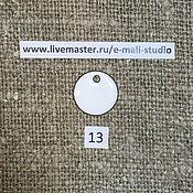 Материалы для творчества handmade. Livemaster - original item Enamel opaque Сacholong White No.13 Dulevo. Handmade.