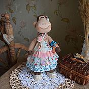 Куклы и игрушки ручной работы. Ярмарка Мастеров - ручная работа Обезьянка - символ 2016 года. Handmade.