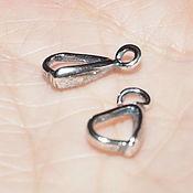 Материалы для творчества handmade. Livemaster - original item Holder pendant - silver plated, Russia. Handmade.