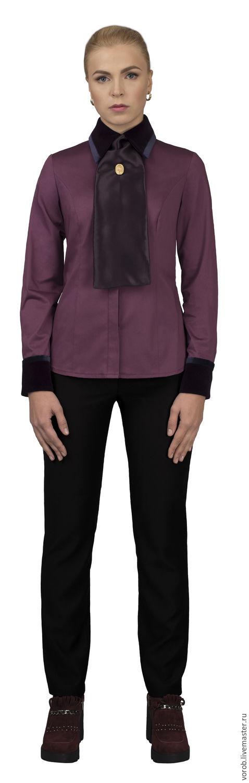"""Блузки ручной работы. Ярмарка Мастеров - ручная работа. Купить Рубашка коллекция """"Лорд"""". Handmade. Рубашка из хлопка, дизайнерская одежда"""