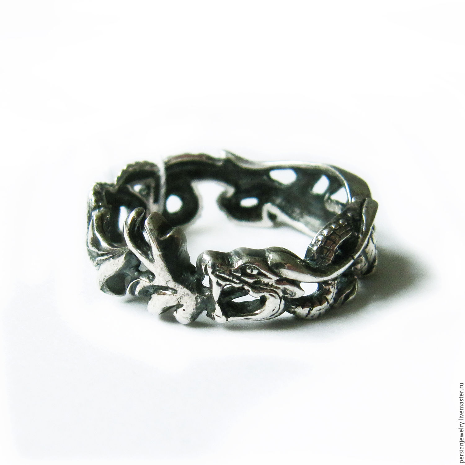 Ring 'Lord of the Dragons' silver, Rings, Sevastopol,  Фото №1