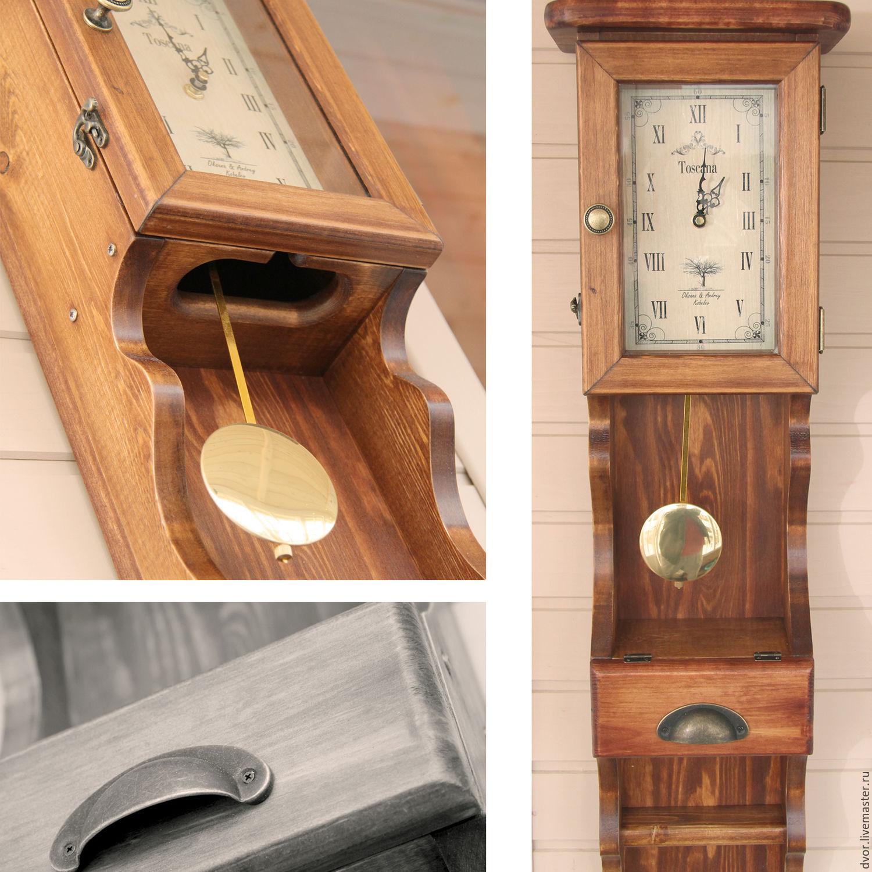 Настенные часы с маятником своими руками 72