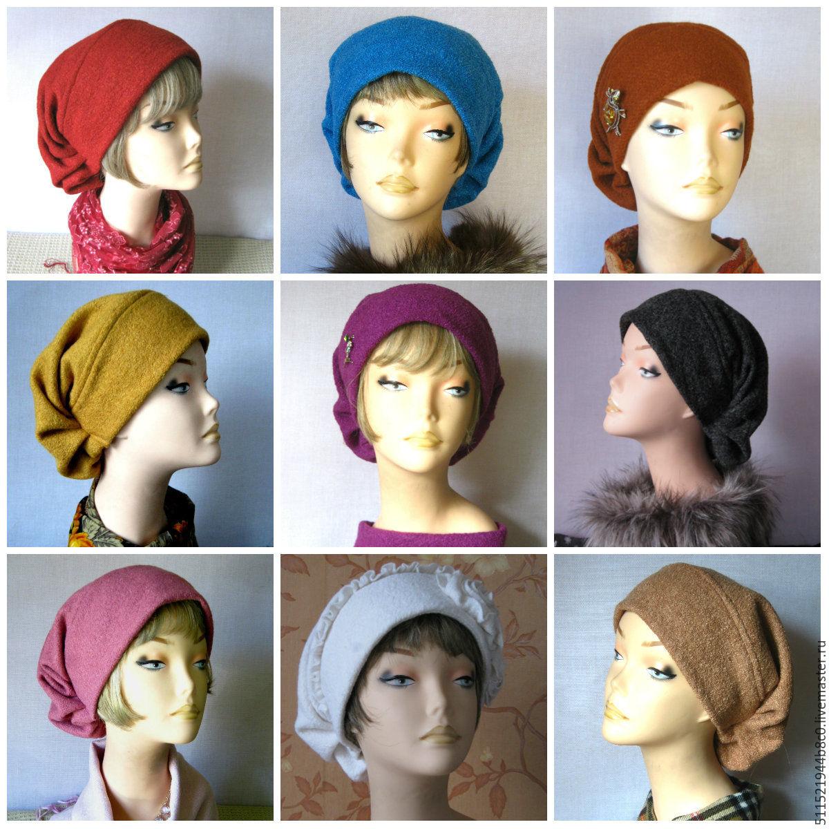 Сшить женскую шапку своими 990
