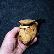"""Трубки ручной работы. Ярмарка Мастеров - ручная работа """"Капитан Чёрч"""" курительная трубка. Handmade."""