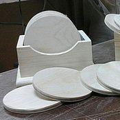 Материалы для творчества handmade. Livemaster - original item A set of coasters under hot pine, harvesting 055. Handmade.