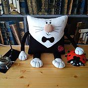 Подушки ручной работы. Ярмарка Мастеров - ручная работа Подушка-игрушка диванная. Handmade.