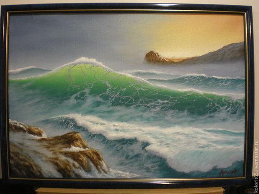 Шторм, волна,море,океан,скалы,горы. Надвигается шторм.