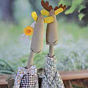 Куклы и игрушки ручной работы. Ярмарка Мастеров - ручная работа Нежная пара Софи и Дарси. Handmade.