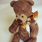 Куклы и игрушки ручной работы. Ярмарка Мастеров - ручная работа Мишутка-погремушка. Handmade.
