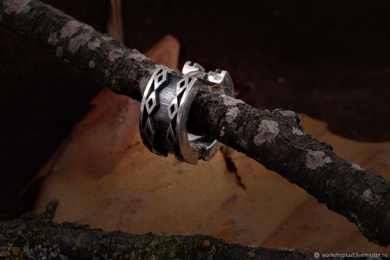Earring: ' runes', Earrings, Moscow,  Фото №1