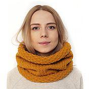 Аксессуары handmade. Livemaster - original item Knitted scarf-pipe