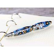handmade. Livemaster - original item Cigar ballpoint pen in case. Handmade.