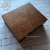 Сувениры и подарки handmade. Livemaster - original item Packaging: Box of wood.. Handmade.
