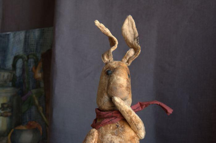 Big Plush Rabbit, Stuffed Toys, St. Petersburg,  Фото №1
