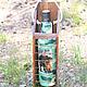 Персональные подарки ручной работы. Набор бутылка в коробе с фотографией. Ksu-ksu-ksu. Ярмарка Мастеров. Фото, мужчине, дерево