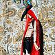 Сет - бог пустыни. Шарнирная кукла. Ledi Felicia. Интернет-магазин Ярмарка Мастеров.  Фото №2