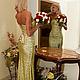 """Корсеты ручной работы. Заказать Корсетное платье из пайеток """" Golden Lady"""". Ксения Jesofa (jesofa-corset). Ярмарка Мастеров."""