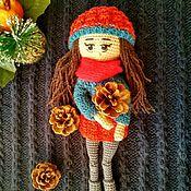 Куклы и пупсы ручной работы. Ярмарка Мастеров - ручная работа Кукла вязаная крючком. Handmade.