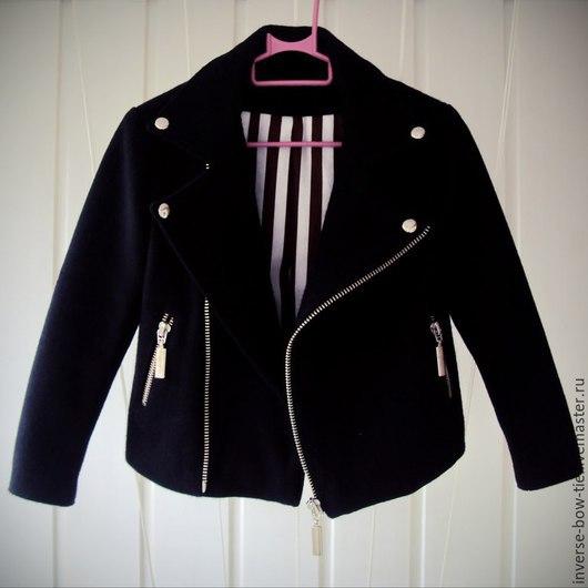 Одежда для мальчиков, ручной работы. Ярмарка Мастеров - ручная работа. Купить Куртка-косуха детская. Handmade. Черный, куртка