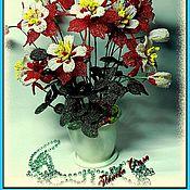 Цветы и флористика handmade. Livemaster - original item Columbine,or Aquilegia Orlik.. Handmade.
