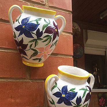 Flowers and floristry handmade. Livemaster - original item Flower pot
