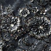 Одежда handmade. Livemaster - original item Dress with sequin, velvet, stretch.. Handmade.