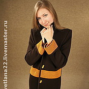 "Одежда handmade. Livemaster - original item Knitted coat""Chocolate"". Handmade."