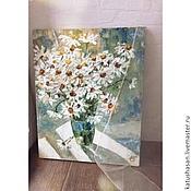 Картины и панно ручной работы. Ярмарка Мастеров - ручная работа Утренние ромашки. Handmade.