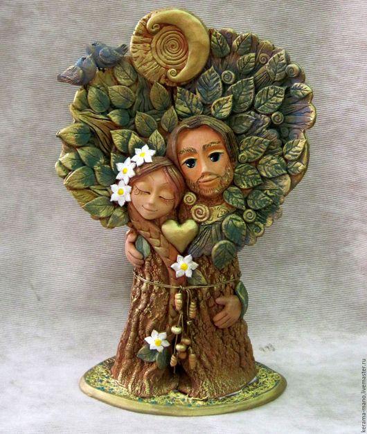 Сувениры ручной работы. Ярмарка Мастеров - ручная работа. Купить Дерево Любви. Handmade. Древо жизни, символ любви