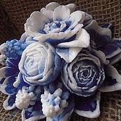 Подарки к праздникам handmade. Livemaster - original item Royal bouquet in a gift box - a great author`s soap. Handmade.