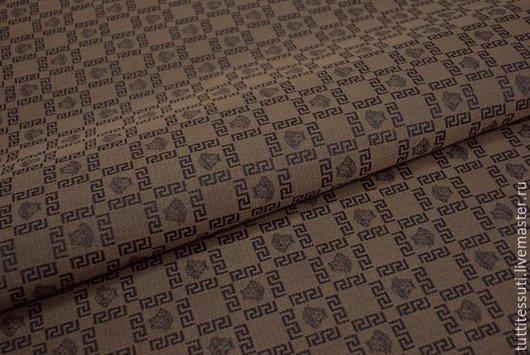 Шитье ручной работы. Ярмарка Мастеров - ручная работа. Купить Ткань для сумок 20-003-1935. Handmade. Коричневый