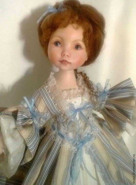 Коллекционные куклы ручной работы. Ярмарка Мастеров - ручная работа. Купить Кукла  Мечта Продана. Handmade. Голубой, коллекционная кукла