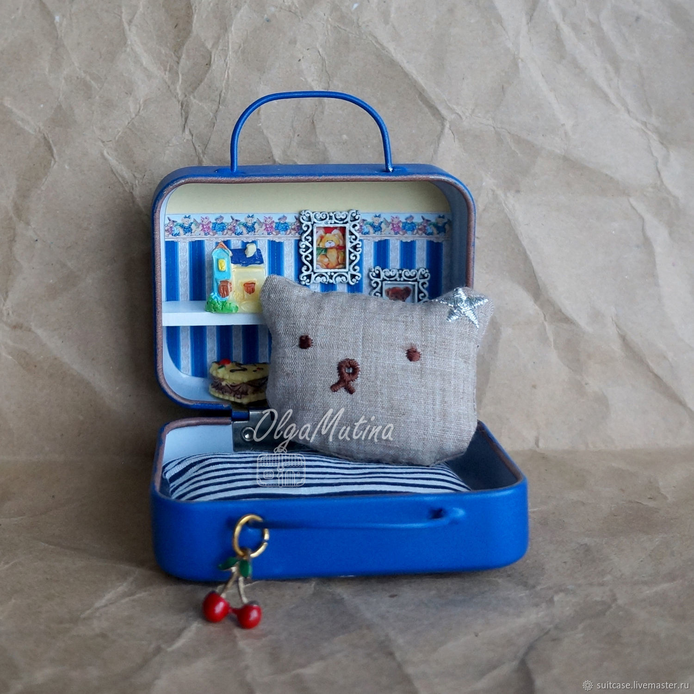 Подушка-мишка большая, Мебель для кукол, Чебоксары,  Фото №1