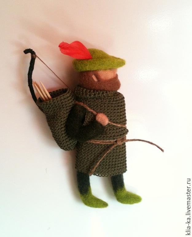 Robin Hood - keeper of toothpicks, Magnets, Moscow,  Фото №1