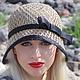 Шляпы ручной работы. Ярмарка Мастеров - ручная работа. Купить Летняя шляпа, шляпка клош. Handmade. Желтый, шляпка в стиле