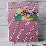 Открытки handmade. Livemaster - original item !The handmade card,happy birthday) style cas be happy happy 2. Handmade.