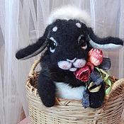 """Куклы и игрушки ручной работы. Ярмарка Мастеров - ручная работа Кролик """"Шуня""""РЕЗЕРВ. Handmade."""