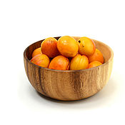 Посуда handmade. Livemaster - original item Deep wooden plate D16 H7. Bowl. Handmade.
