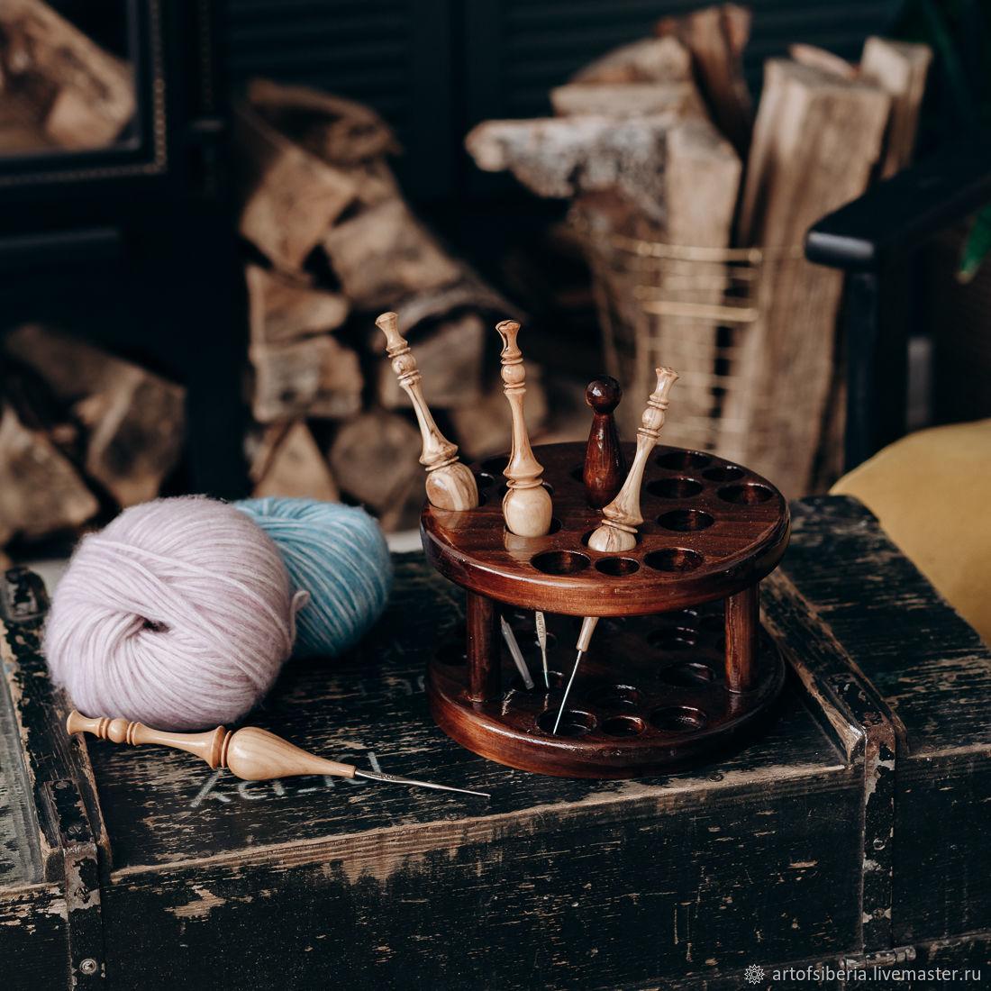 Органайзер для вязальных крючков (подставка) O1, Инструменты для вязания, Новокузнецк,  Фото №1