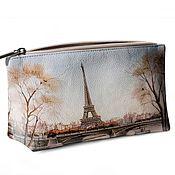 Большая косметичка Париж