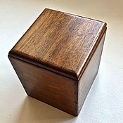 Винтажные предметы интерьера ручной работы. Ярмарка Мастеров - ручная работа ШКАТУЛКА коробочка 40-е годы Дерево Латунь деревянная коробка. Handmade.